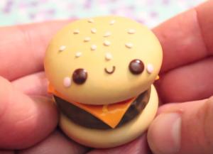hamburguesa fimo
