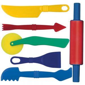 herramientas plastilina