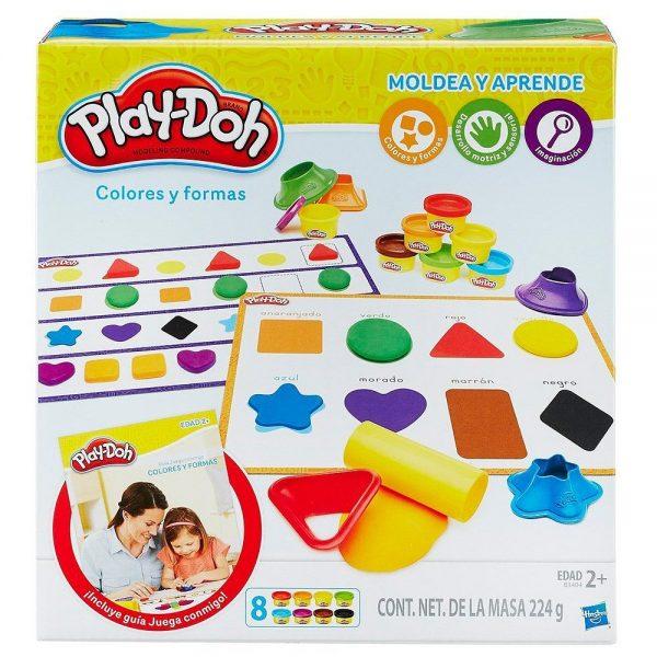 juego plastilina colores y formas