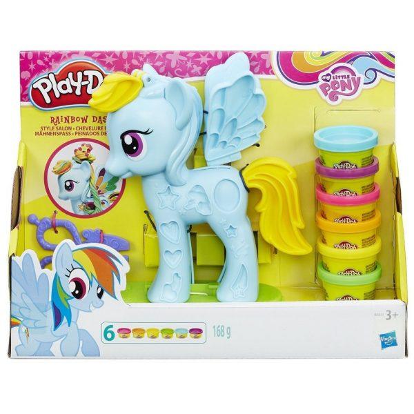 juego de plastilina unicornio