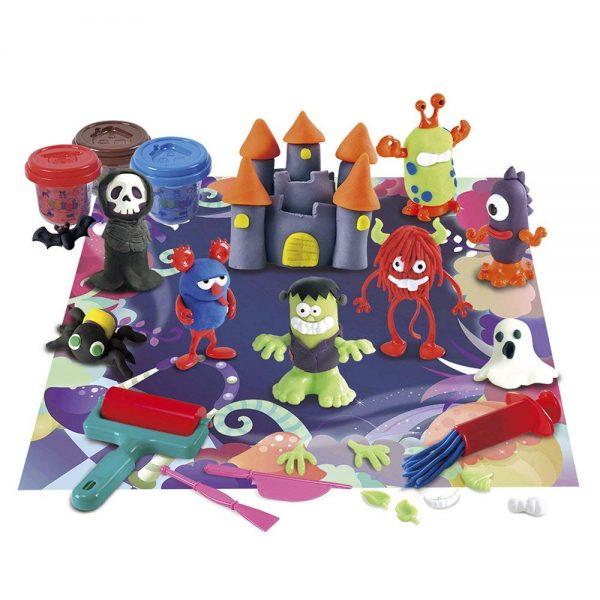 juego plastilina monstruos